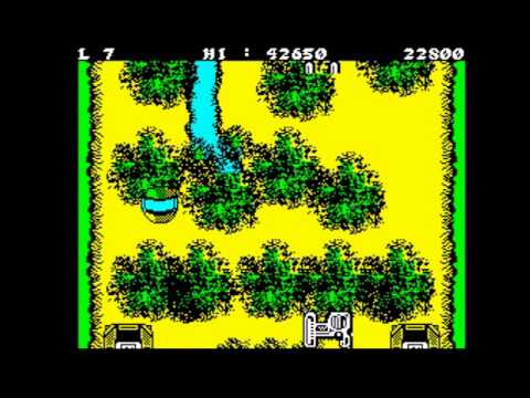 Light Force Walkthrough, ZX Spectrum