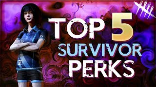 Dead by Daylight Top 5 Survivor Perks