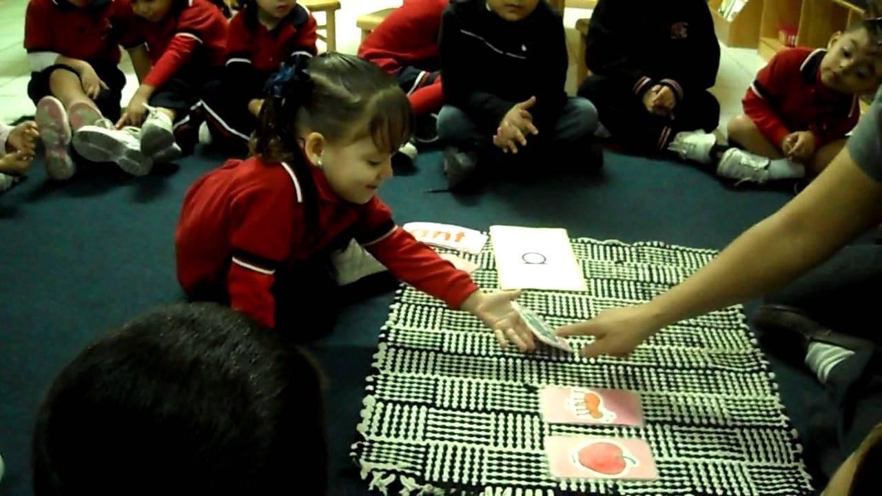 Montessori Lenguaje Ninos De Dos Anos Youtube