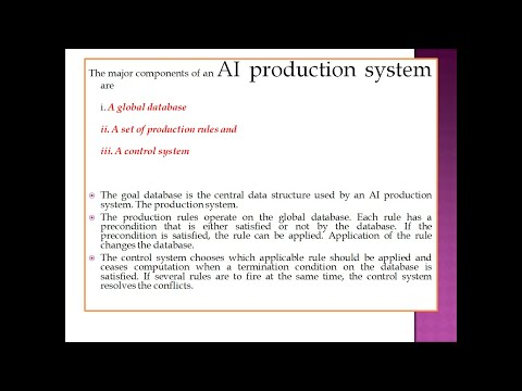 PRODUCTION SYSTEM AND DIFFERENT TYPES OF PRODUCTION SYSTEM|NTA NET COMPUTER SCIENCE