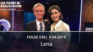 Pierre M. Krause Show vom 09.04.2019 mit Lena