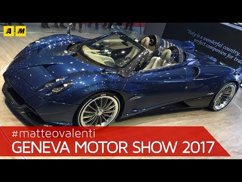 Million Pagani Huayra Ft Koenigsegg Geneva Car Show
