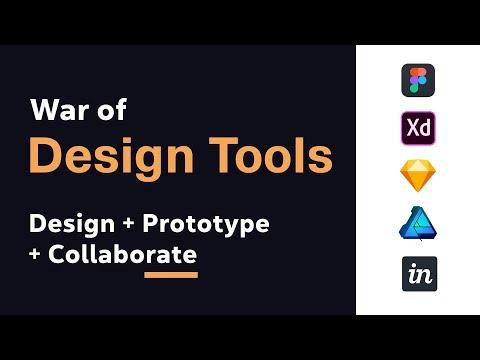 War Of UI UX Design Tools In 2018