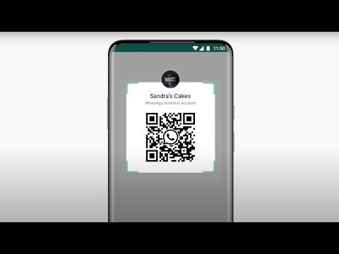 How to use a QR code on WhatsApp Business