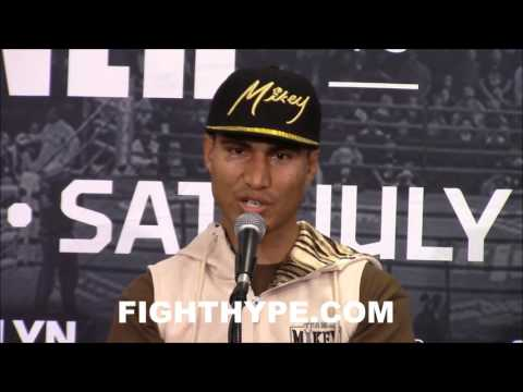 """MIKEY GARCIA DEAD SERIOUS ABOUT KEITH THURMAN FIGHT: """"THAT'S EXACTLY THE KIND OF FIGHTS WE WANT"""""""