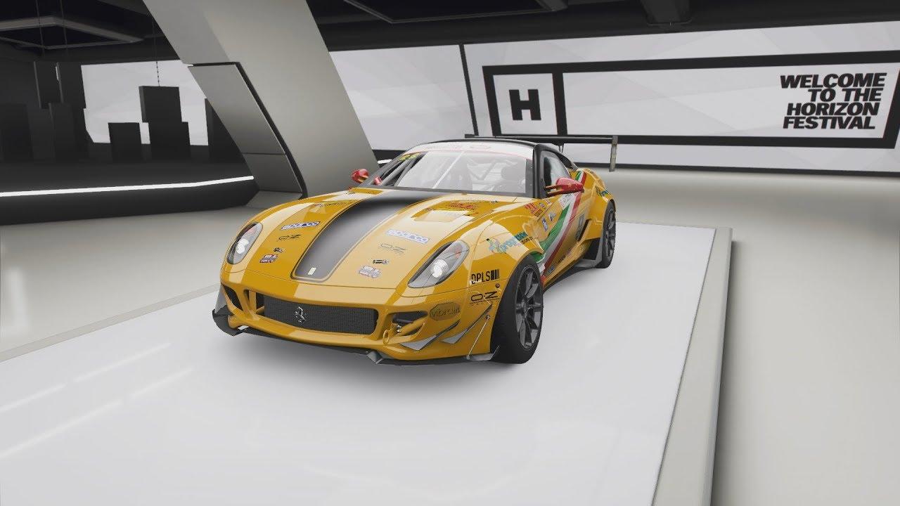 Formula Drift #117 Ferrari 599 GTB Fiorano ( Max ) Test Drive - Forza Horizon 4 - YouTube