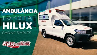 Toyota Hilux Ambulância Cabine Simples - Pickup&Cia