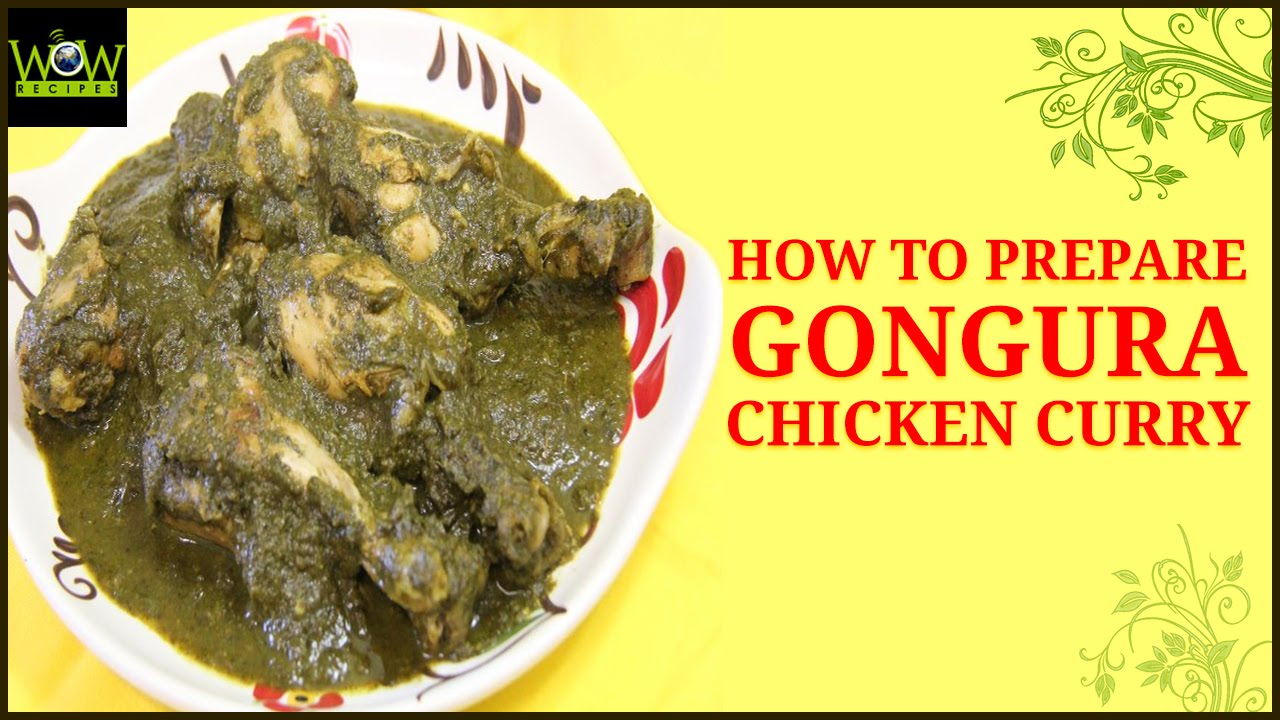 how to prepare gongura chicken curry in telugu chicken