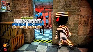 Grand StickMan Prison Escape Story Jail Break 2018 (by Survival Games Craft) / Android Gameplay HD