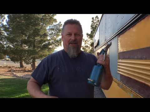 Bus to RV conversion Part 10 -  Cutting out rust and Pop Rivets out the wazoo