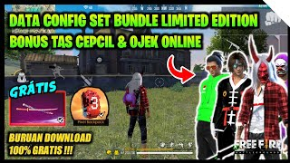SKINS GRATIS FREE FIRE‼️DATA CONFIG TAS CEPCIL & BACKGROUND AURA NESC - GARENA FREE FIRE