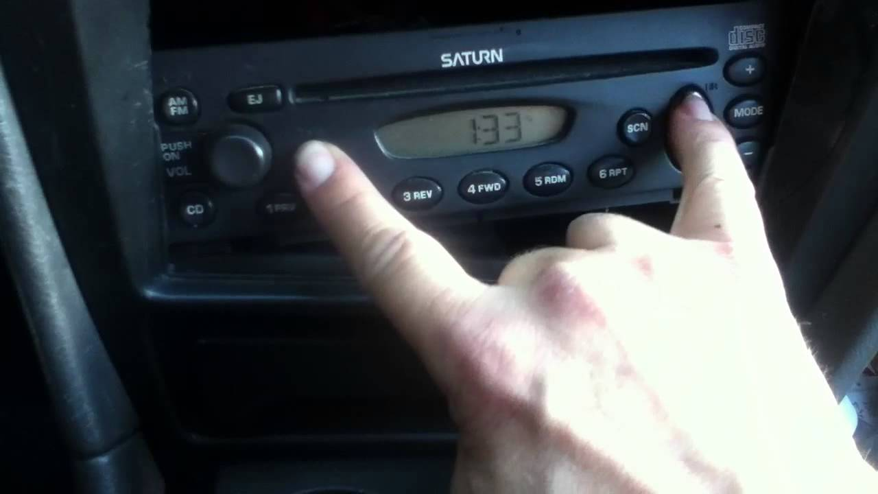How To Set The Clock On A Saturn Car Radio