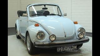 Volkswagen Beetle 1303 Cabriolet 1975 -VIDEO- www.ERclassics.com