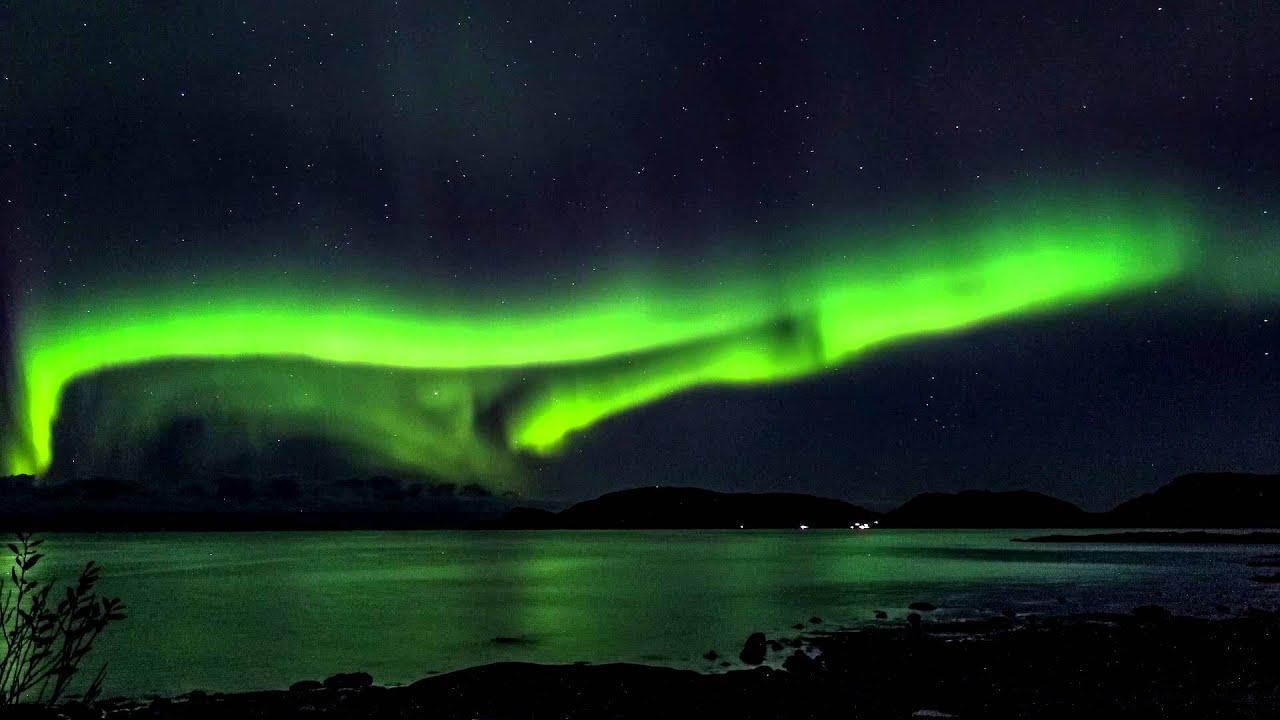 Default Iphone 7 Wallpaper Nordlichter Norwegen Kommune Bindal An Der Rv17 Youtube