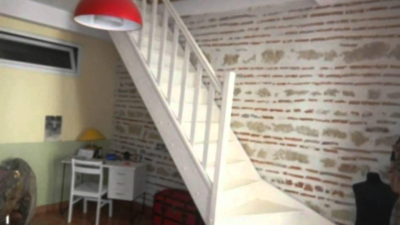 Marmande maison terrasse moderne pierre mezzanine youtube - Maison de la mezzanine ...