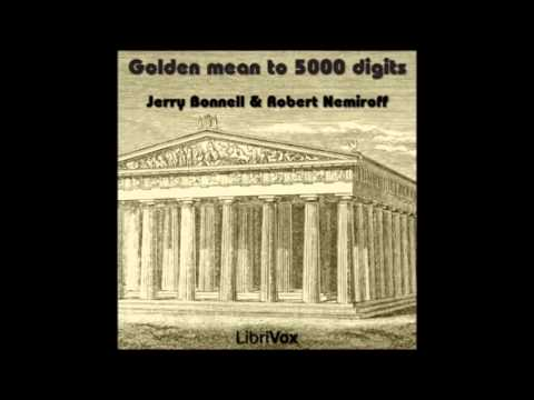 Golden mean to 5000 digits