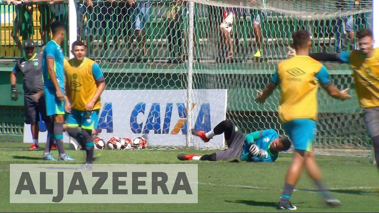 Brazil: Chapecoense football team's first game since plane crash