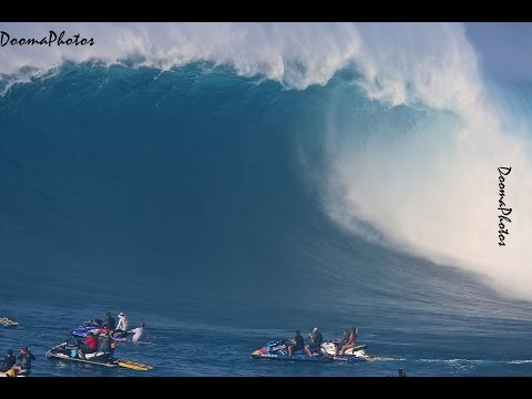 Jaws Peahi Maui Paddle Session SONY 4K