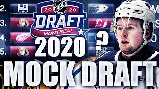 2020 NHL MOCK DRAFT (POST-LOTTERY EDITION) 2020 NHL Top Prospect Rankings (Alexis Lafreniere + More)