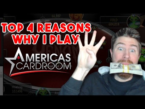 Americas Cardroom Exposed | My Top 4 Reasons For Playing On ACR