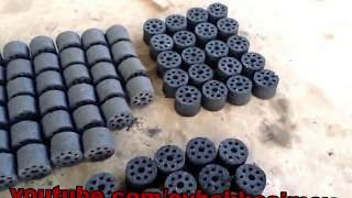 briquettes at home