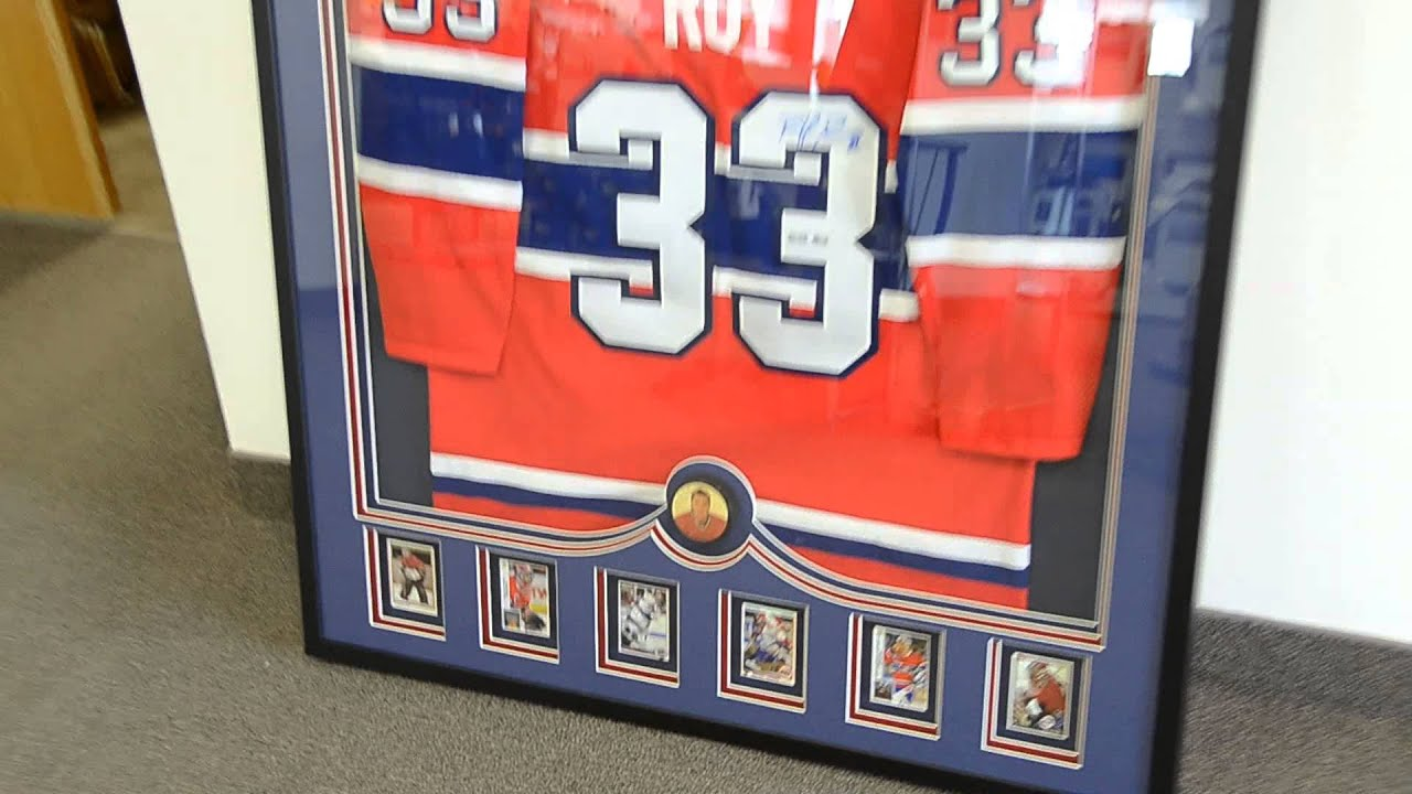 Framed Hockey Jersey March 2014 - YouTube