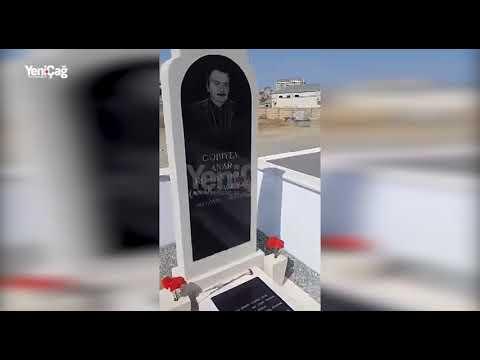 Anar Nağılbazın məzar daşında yazılan sözlər ürək parçaladı - FOTOLAR/VİDEO