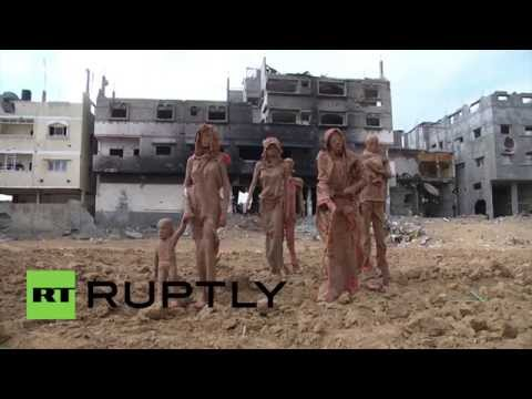 State of Palestine: Clay sculptures commemorate victims of latest Gaza conflict