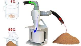 Вытяжка + циклон(Циклон — воздухоочиститель, используемый в промышленности, а также в некоторых моделях пылесосов для очис..., 2015-11-26T20:31:28.000Z)