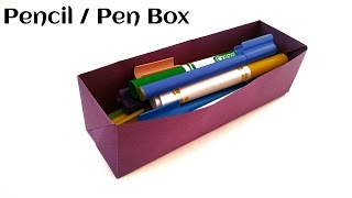 Useful Origami - Paper  Pencil ✏ / Pen ✒ Box