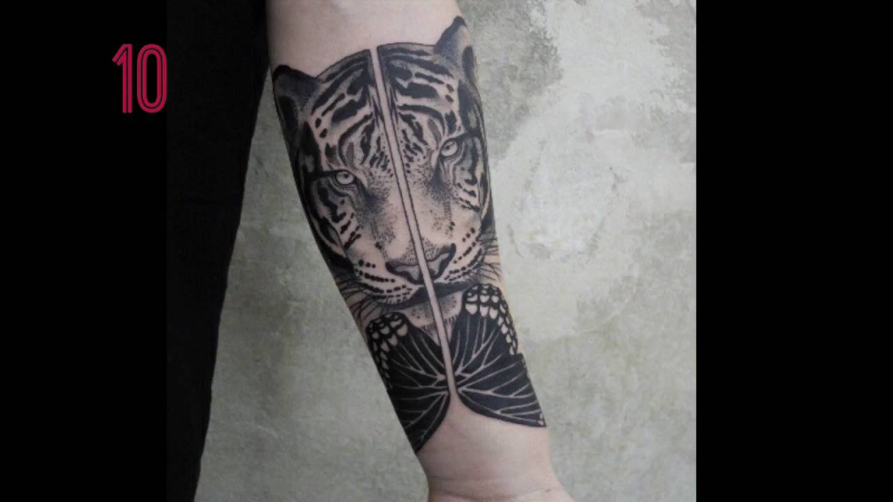 Top 10 cool forearm tattoos!! - YouTube