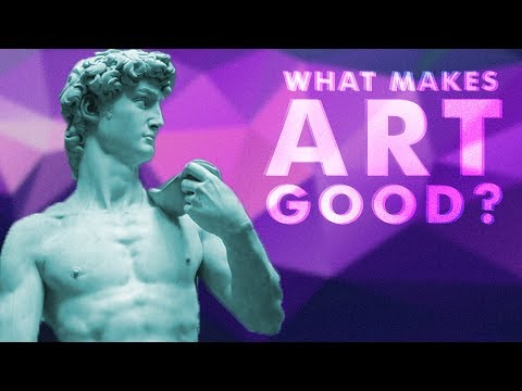 What makes something art?