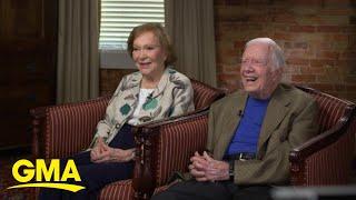Former President Jimmy Carter celebrates wedding milestone
