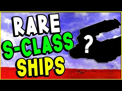 RARE S CLASS SHIP COORDINATES! Fighter, Hauler, Exotic, Squid Ships & More! | No Man's Sky Guide