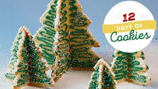Christmas Tree Cookie Forest | Food Network