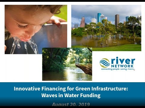 Innovative Financing for Green Infrastructure  Waves in Water Funding