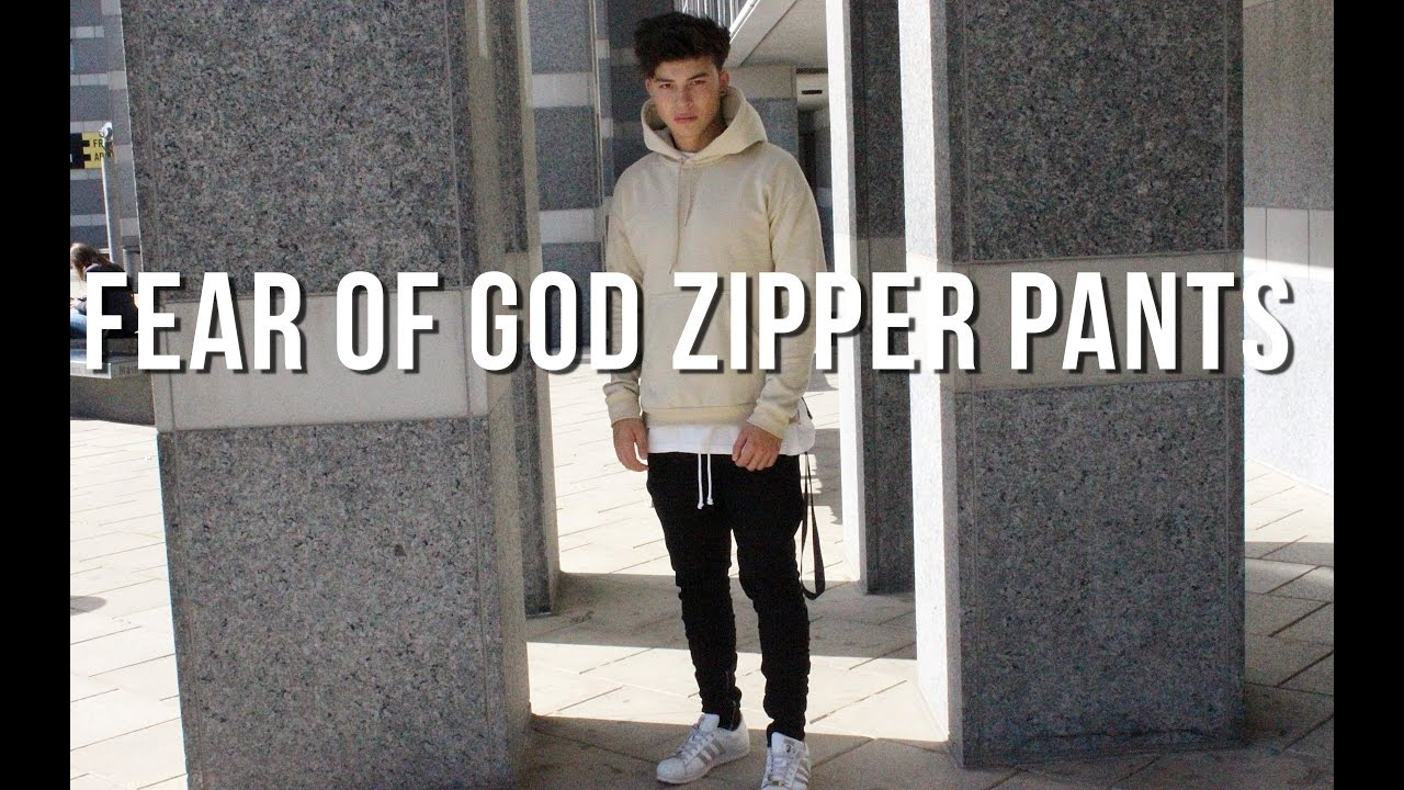 2065bef9 Fear Of God Zipper Pants at H&M (FOG) - YouTube