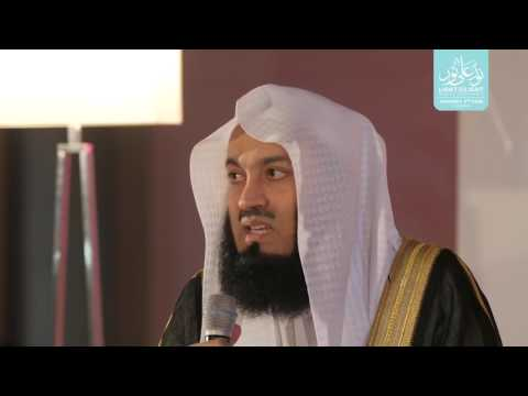 How to Find a Partner? The Halal Way.... by Mufti Menk