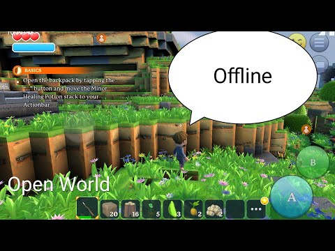 Top 6 Android Open World Survival Crafting Offline/Online Games.