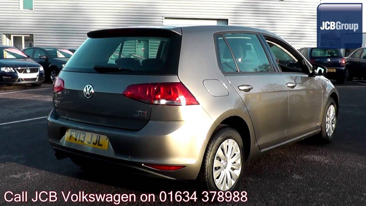 2013 Volkswagen Golf BlueMotion 1.6l Limestone Grey ...