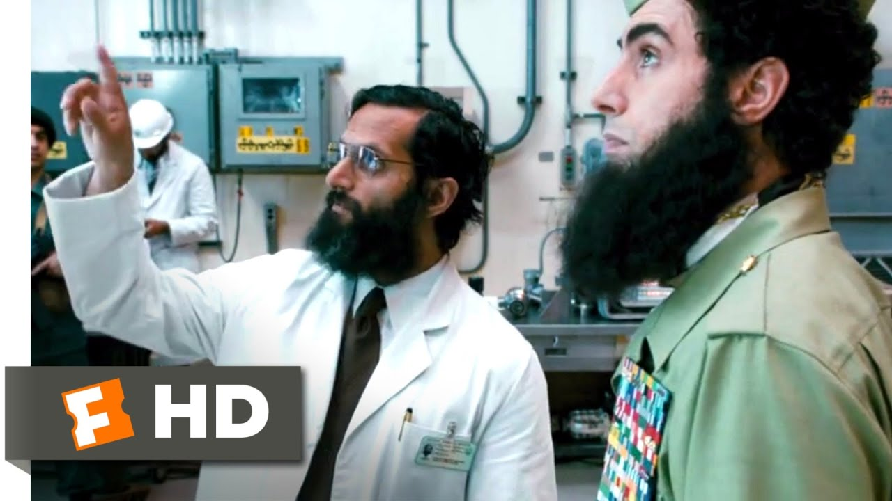 Download The Dictator (2012) - Nuclear Nadal Scene (3/10) | Movieclips