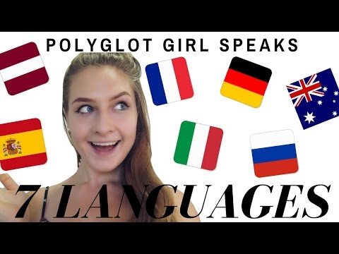 Polyglot Girl Speaks 7 LANGUAGES 🌟