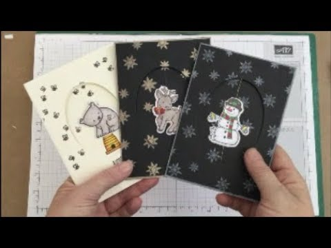 Card 2 Fun Spinner Cards With Stampin Up - When things go wrong they really go wrong!!