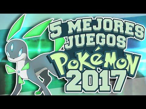 LOS 5 MEJORES JUEGOS o HACKS DE POKEMON 2017 Y DESCARGAR