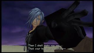 Kingdom Hearts 1.5 HD Remix - Chain of Memories - Riku Standard Mode - Zexion Boss.