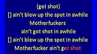 body count - talk shit, get shot (karaoke)