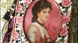 Lady Victorian Junk Journal | Flip Through