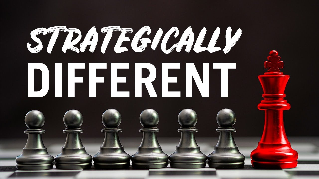 How to Become Strategically Different (And Win In Your Niche) - Day #258 of The Income Stream