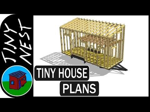 Tiny House Plans - Analyzing The Structure (Ep.4)