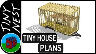 Tiny House Plans - Analyzing The Structure  Ep.4